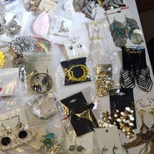 Jewelry - LOT # 1...Jewelry lot of 40 pair of EARRINGS